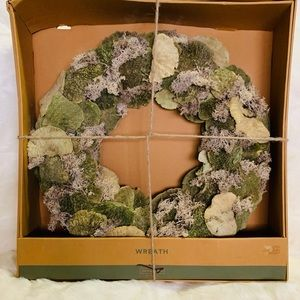 "⭐️21.2"" Dried Mushroom And Moss Wreath"